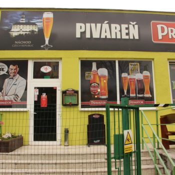 Piváreň Primátor - exteriér